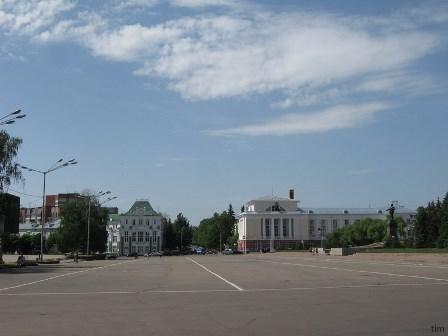 Площадь Ленина в Орле